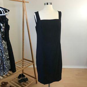 Akris Punto • Square Neck Wool Sheath Dress Size 8
